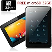 inDigi® NEW! 7 Android 4.2 JB Tablet PC w/ Wireless Phone Function & Google Play Store