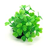 Good Cool Simulation Clover Plants Waterweeds Prospects Decoration for Fish Tank