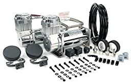 VIAIR 400C 150 PSI Dual Performance Value Pack - Chrome