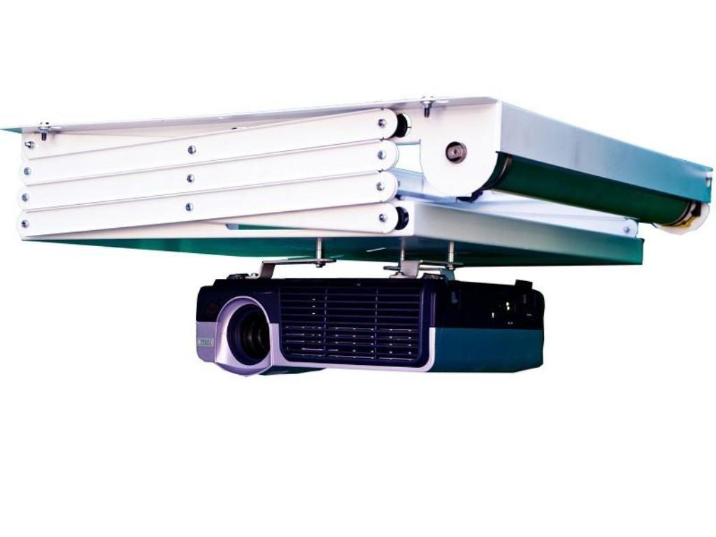 Ceymsa VL-PRO100UE Beamerhalterung, Metall, weiß, 400 x 470 x 110 cm