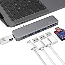 dodocool MacBook Pro ハブ 4K HDMI Thunderbolt 3 100W PD 充...