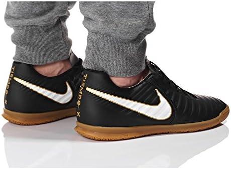 Nike Hombre Tiempox Rio IV (IC) Negro Blanco Negro Tamaño 12.5