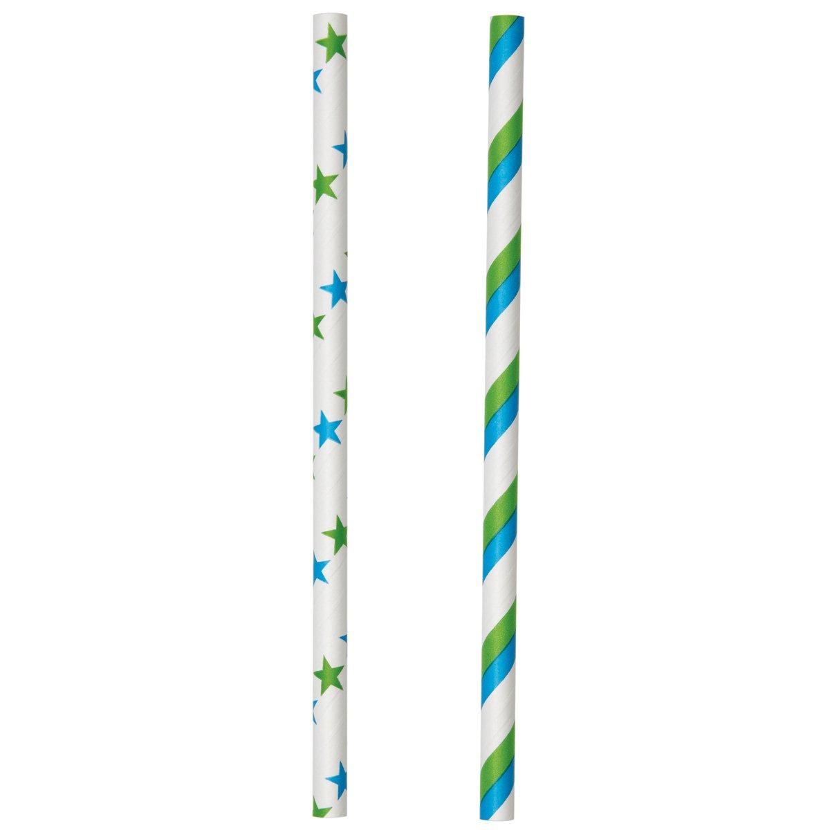 Wilton 1912-4000 Colored Lollipop Sticks, Blue/Green