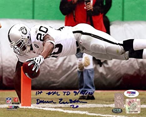 20a318f94 Image Unavailable. Image not available for. Color  DARREN MCFADDEN  AUTOGRAPHED 8X10 PHOTO OAKLAND ...