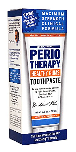 TheraBreath Dentist Formulated PerioTherapy Healthy Gums Toothpaste, 3.5 Ounce by TheraBreath (Image #6)