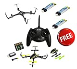 New Blade Nano QX RTF QuadCopter w/ (4) E-Flite Battery + Crash Kit Combo # BLH7600