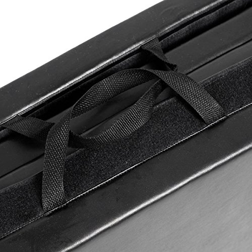 New Black 4'x8'x2'' Thick Folding Panel Gymnastics Mat Gym Fitness Exercise Mat by Yoga Mats (Image #4)