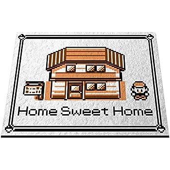 "Pokemon, ""Home Sweet Home"" Doormat Welcome Floormat (18"" x 24"", Game Boy Color - Sepia)"