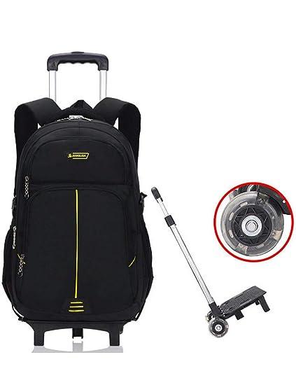 Mochila con Ruedas - Durable Rolling Daypack Bolsa de Viaje ...