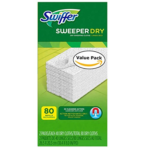 Swiffer Sweeper Dry Sweeping Pad Refills Hardwood Floor