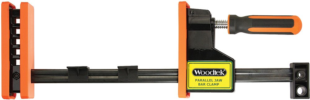 Woodtek 170150, 4-pack, Clamps And Vises, Bar & Pipe Clamps, 24'' Parallel Jaw Bar Clamp