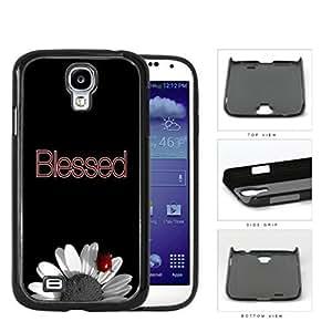 Blessed Lady Bug On Sunflower Hard Plastic Snap On Cell Phone Case Samsung Galaxy S4 SIV I9500Kimberly Kurzendoerfer