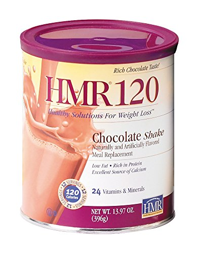 HMR 120 Chocolate Shake, Canister of 12 servings