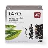 Tazo Awake English Breakfast Black Tea Filterbags 48 ct, Pack of 4 For Sale