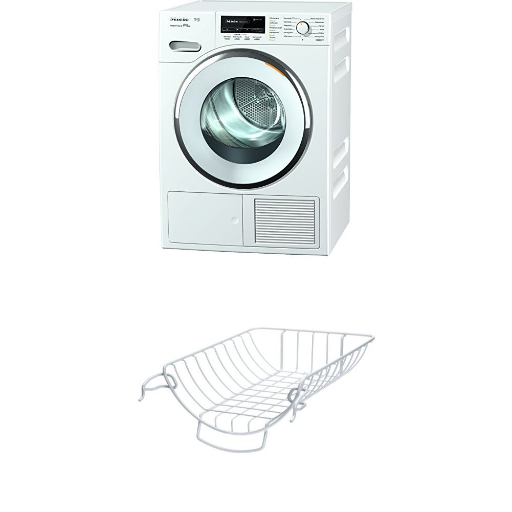 Miele TMG 840 WP Wärmepumpentrockner / Energieklasse A+++ (169kWh/Jahr) / 8kg Schontrommel / Dampffunktion zum Vorbügeln der Wäsche / Duftflakon für frisch duftende Wäsche /Startvorwahl /Knitterschutz [Energieklasse A+++] TMG840WP D LW SFinish&Eco
