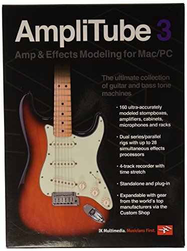 In Tuner Module Plug - IK Multimedia AmpliTube 3 guitar and bass amp and effects modeling software