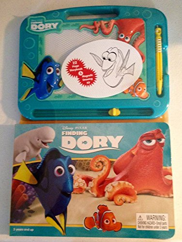 Finding Dory 22 Page Storybook and Magnetic Drawing - Magnetic Kit Drawing