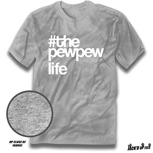 'Pew Pew Life' Premium Gun Rights Tee - 2nd Amendment (XL, Sport - Sports Incentive Chart