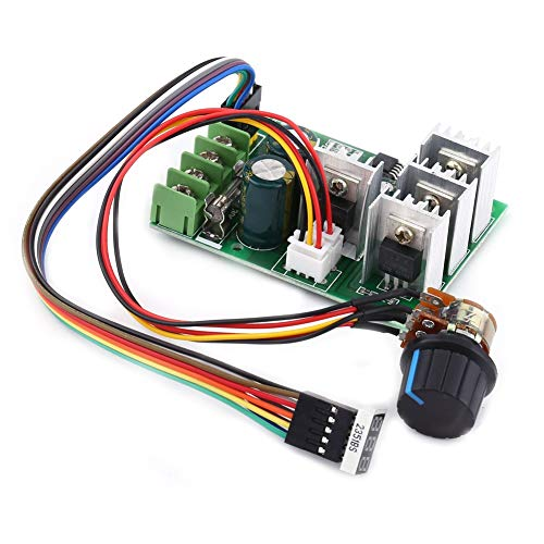 DC 6V-60V 30A Variable Speed Motor Controller Driver Control with Digital ()