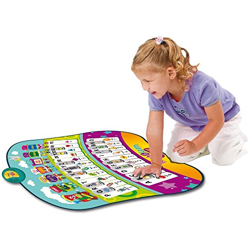 onal Piano Play Mat with 33 Keys, 4 Built-in Games & Activities Covering the Alphabet, Words, Shapes, Spelling, Colors, & Music Playing, Along with Quiz, Tons of Fun ()