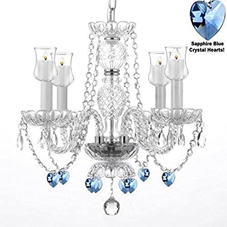 hot sales ac297 50318 Crystal Chandelier Lighting Chandeliers W/Candle Votives H17 ...