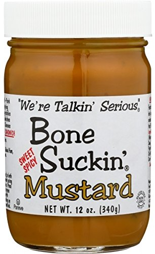 Bone Suckin' Sweet Hot Mustard, 12 Ounce For Sale