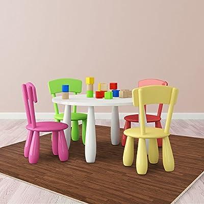 "Achim Home Furnishings FMTL104-06 Interlocking Floor Tiles, 24"" x 24"", Ash"