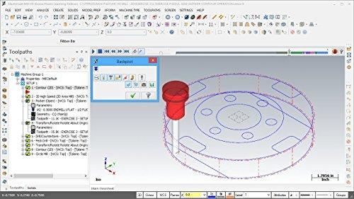 Mastercam X8-X9 MILL 3-AXIS Beginner's Edition Video Tutorial