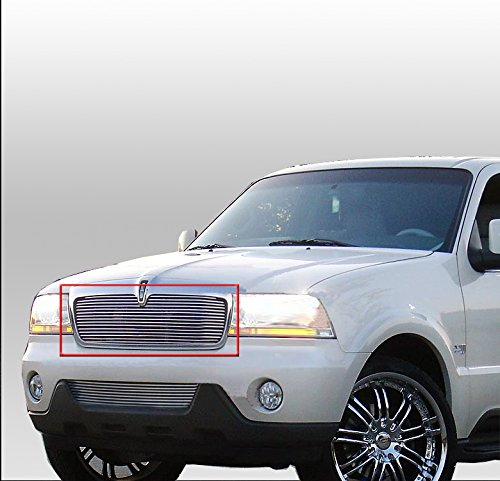 ZMAUTOPARTS Lincoln Aviator Front Upper  - Lincoln Aviator Billet Shopping Results