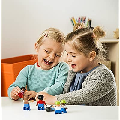 World People Set for Exploring Family Dynamics by LEGO Education DUPLO: Toys & Games