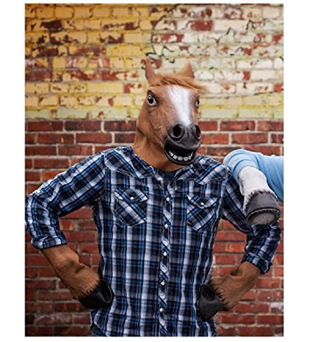 Halloween Mask Collection (E-joy® Halloween Mask Collection (Hooves + Brown Horse Mask))