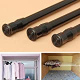 Extendable Adjustable Spring Tension Window Curtain Rod Pole Telescopic Pole Shower Curtain Rod