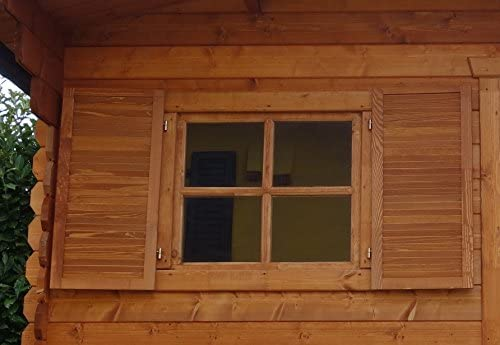 Dekalux - Caseta para jardín, de madera, 2.5 x 2, 5: Amazon.es: Jardín