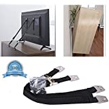 Childproof Anti-Tip TV and Furniture Anchor Safety Straps Hardware Protection Adjustable Straps with Durable Metal Parts