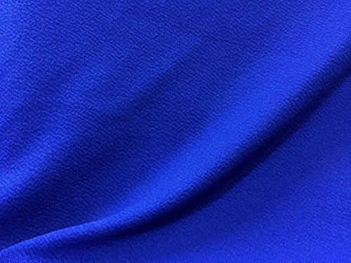 VF166-36 Team Royal - Blue Liverpool Crepe Knit FabricTemorarily out of - Vogue Stock