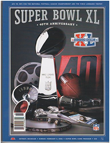 - Super Bowl XL: Seahawks/Steelers Official Program, 2006