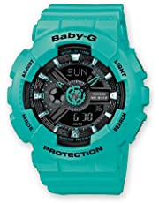 Casio Baby-G Analogue/Digital Female Green/Blue Watch BA-111-3A BA-111-3ADR