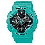 Casio Baby-G – Damen-Armbanduhr mit Analog/Digital-Display und Resin-Armband – BA-111