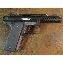 Sand Paper Pistol Grips Peel and Stick Grip Enhancements for the polymer framed Ruger Mark IV 22/45, Mark IV 22/45 LITE, Mark IV 22/45 Tactical