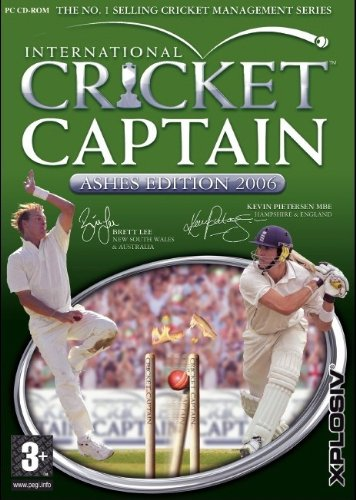International Cricket Captain Ashes Edition 2006 (PC-CD) Includes both the game and a bonus