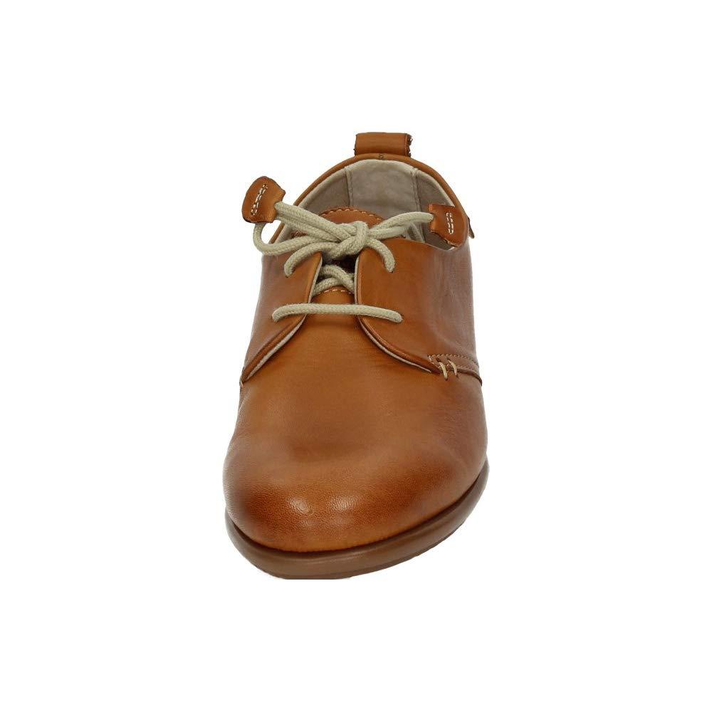 5318aea1 48 HORAS 910102/12 Blucher DE Piel Mujer Zapatos CORDÓN: Amazon.es: Zapatos  y complementos