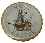 Peter Rabbit Happy Easter Paper Plates (24 party plates)
