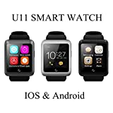 Bazaar U11 Sports Wristwatch Bluetooth Touch Screen Smart Watch For Android and IOS Support Multi Language