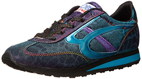 Women's from Blue Sneaker Fashion Purple Skechers Sunset BOBS 1qxSfwCCp