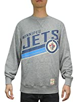 NHL WINNIPEG JETS Mens Athletic Pullover Sweatshirt (Vintage Look)