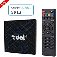 Edal K12 Pro Android 6.0 Amlogic S912 2GB/16GB Octa Core CPU TV BOX