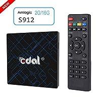 Edal K12 Pro Android 6.0 Amlogic S912 2GB/16GB Octa Core CPU TV Box