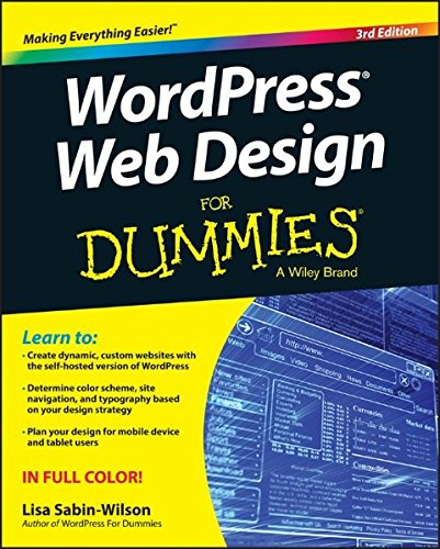 51uMTmb6dvL - WordPress Web Design For Dummies