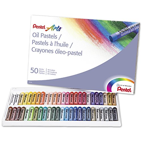 pentel-arts-oil-pastels-50-color-set-phn-50
