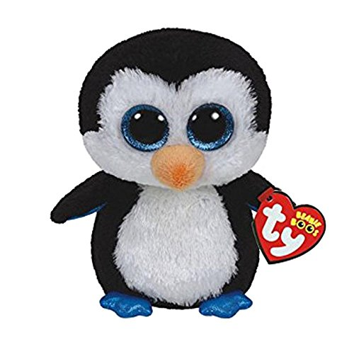 Amazon.com: JEWH Ty Beanie Boos Elephant and Monkey Plush Doll Toys for Girl Rabbit Fox Cute Animal Owl Unicorn Cat Ladybug (Black Penguin): Toys & Games